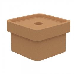 Основание керамическое с отводом конденсата KLASSIK, квадратное KLQ-SO