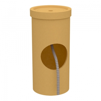 Основание керамическое для отвода конденсата MULTIkeram, 500 мм, с отверстием и трубкой