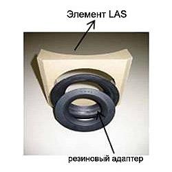 Комплект LAS с резиновыми адаптерами 80/60 и 100/80