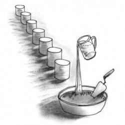 Масса для швов кислотостойкая