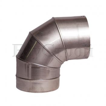 Колена 87° из нержавеющей стали, S 1 мм