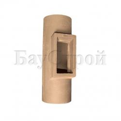 Тройник керамический для осмотра и очистки