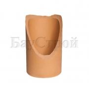 Патрубок керамический для подключения к дымовой трубе 45°