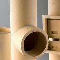 Керамические трубы и элементы систем дымоходов Экотон