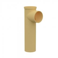 Тройник керамический для подключения потребителяMULTIkeram 665 мм. с длинным патрубком 150 мм М2