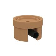 Основание керамическое с отводом конденсата KLASSIK, круглое KLR-SO