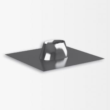 Разделка крышная 0° овал