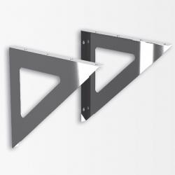 Консоль универсальная для площадки овал (2 шт) К0