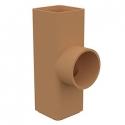 Керамические дымоходные трубы HART KLASSIK (квадратные)
